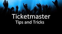 Ticketmaster Tips and Tricks | Ticket Crusader
