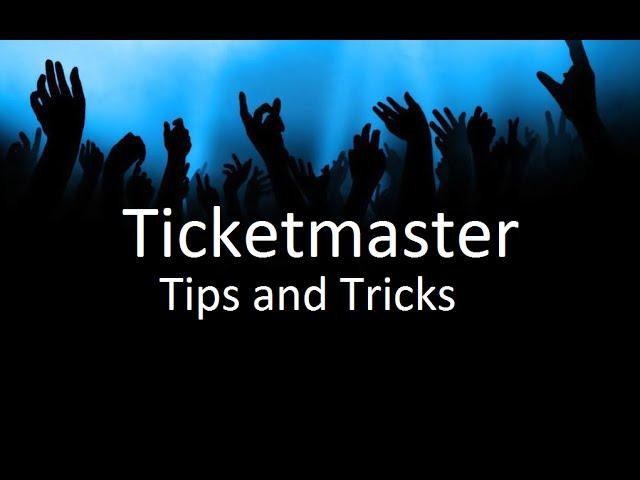 Ticketmaster Tips and Tricks | Ticket Crusader #1