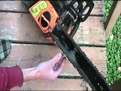 How to tighten chain on poulan pro chainsaw youtube how to tighten chain on poulan pro chainsaw keyboard keysfo Images