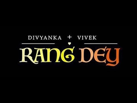 Rang Dey Lyrics || Prajakta Shukre || The Wedding Story || Divek Wedding Song ||