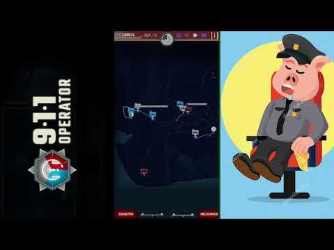 Let's Play 911 Operator. Part 1 /Piggie der Meister der Polizei,Feuerwehr und Sanitäter