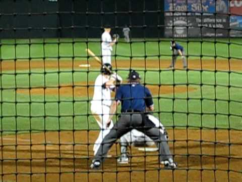 Luke Hughes - New Britain Rock Cats (Min AA 8/14/09)