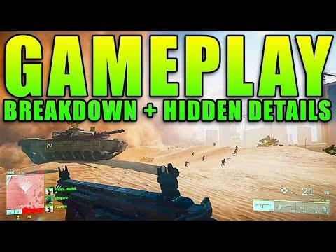 Battlefield 2042 Gameplay Trailer - Complete Breakdown And HIDDEN Details