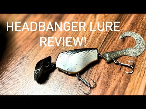 Headbanger Tail Lure Review! The lure challenge EP 9 - YouTube