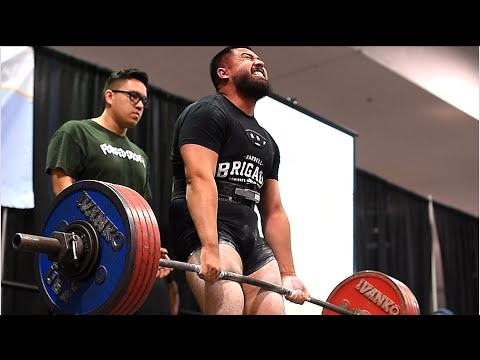 recovery powerlifting meet