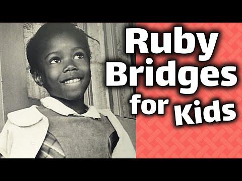 Ruby Bridges for Kids | Social Studies Story Video for Children