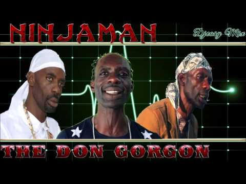 Ninjaman (The Don Gorgon) 80s - 90s Juggling inna grand style Mix by djeasy
