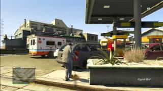 BIGGEST EXPLOSION IN GTA V | MASSIVE GAS STATION CAR PILE UP