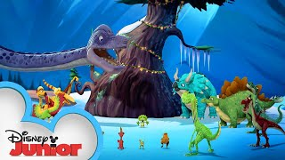 Merry Christmas | Music Video | Gigantosaurus | Disney Junior