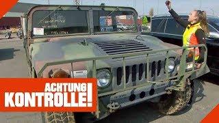 US-Militär Hummer importiert: Ist hier alles in Ordnung?   Achtung Kontrolle   Kabel Eins