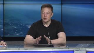 'Crazy things can come true': Elon Musk discusses Falcon Heavy launch: Full presser