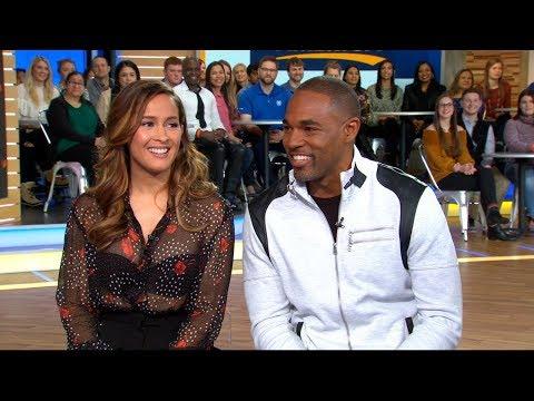 Jason George and Jaina Lee Ortiz dish on 'Grey's Anatomy' spinoff 'Station 19'