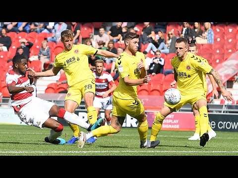 Doncaster Rovers 3 Fleetwood Town 2   IFollow Rovers.