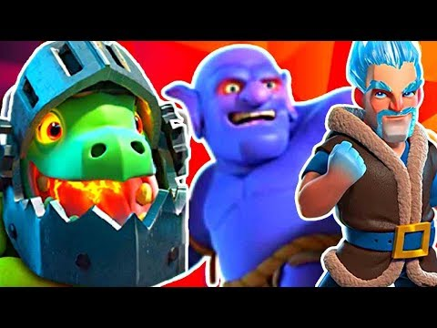 STOP IT ALL! CONTROLLER BOWLER Deck! - Clash Royale להורדה