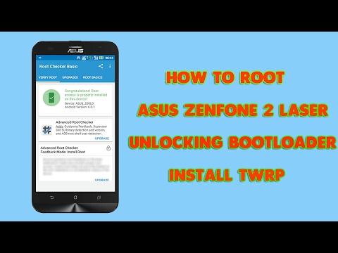 How To Root ASUS ZenFone 2 LASER ZE550KL & Unlocking Bootloader🔓(complete Guide) (100% Working)