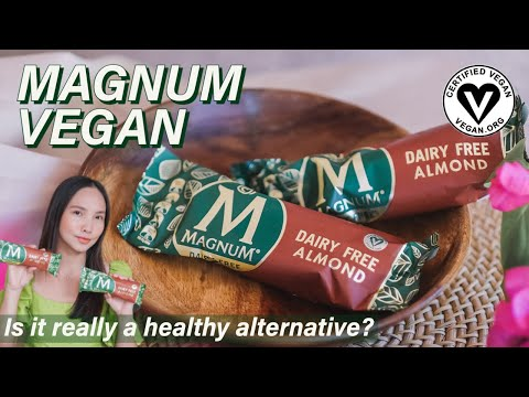 MAGNUM VEGAN ALMOND ICE CREAM REVIEW I IS IT REALLY A HEALTHY ALTERNATIVE? I Selecta Philippines