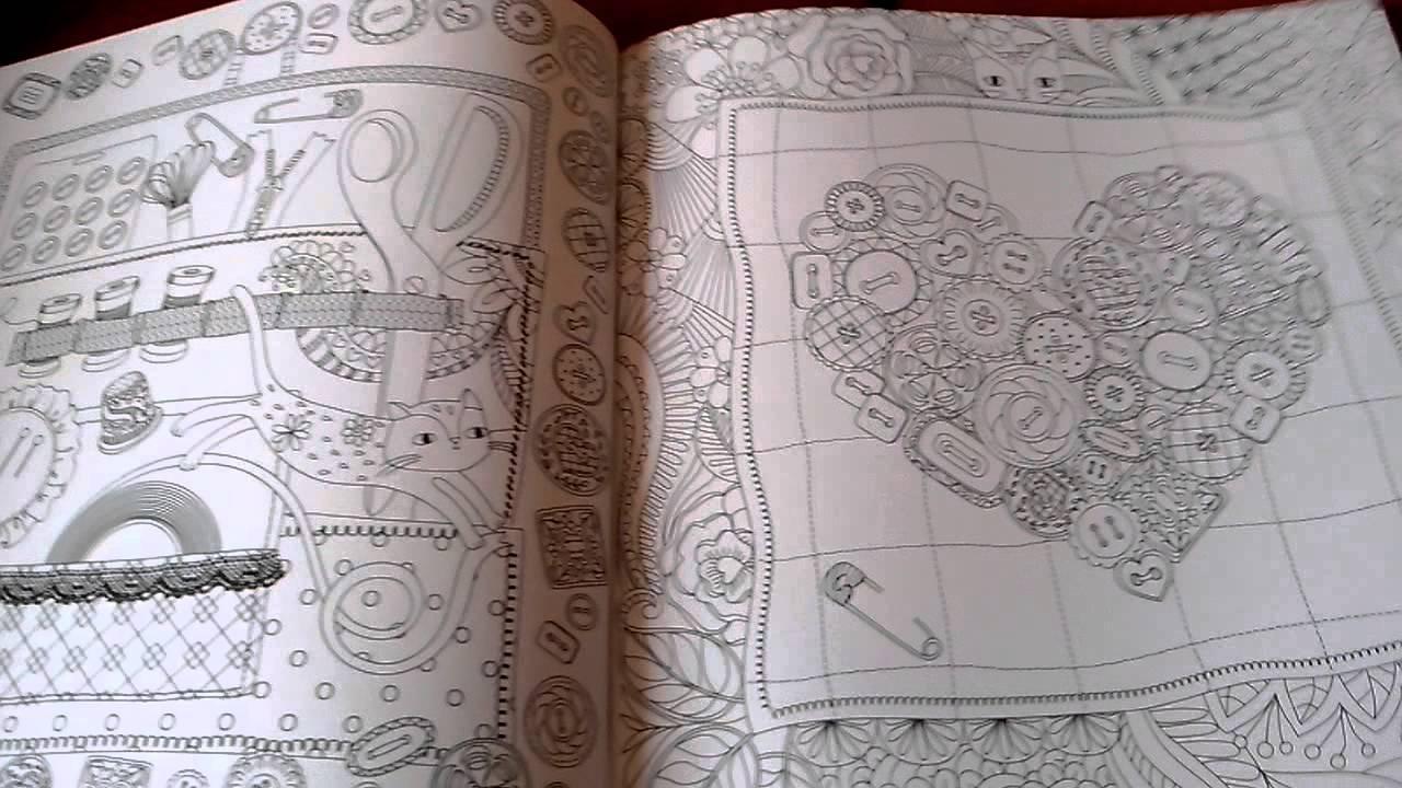 Libro para colorear NATURALEZA OCULTA. - YouTube