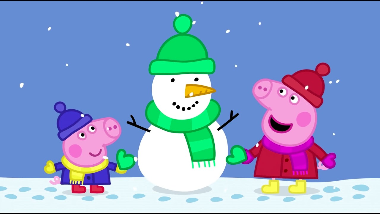 Peppa Pig Episodes  25-27 . Funny Cartoon for kids