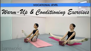 VOCATIONAL LEVEL - Warm-Up and Conditioning Exercises