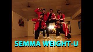 Semma Weight-u   Kaala   Dance Choreography   #highondance