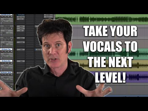 Mixing Vocals To Sit Properly In The Mix - Warren Huart: Produce Like A Pro