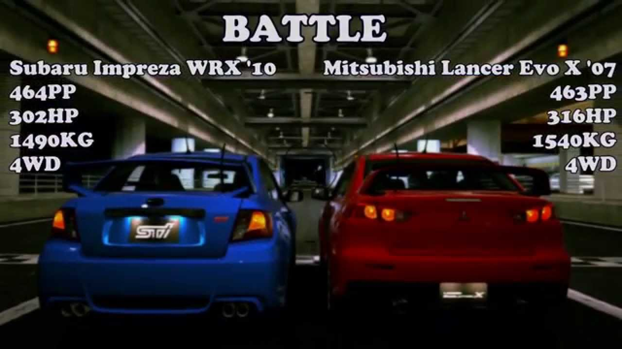 subaru wrx sti vs mitsubishi evolution The all-new 2015 subaru wrx sti is getting ready to make its dealer launch, and the 2015 mitsubishi lancer evolution is making its last hurrah which would you buy.