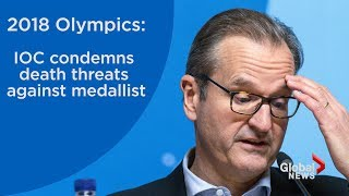 2018 Olympics: IOC condemns death threats against short-track speedskater