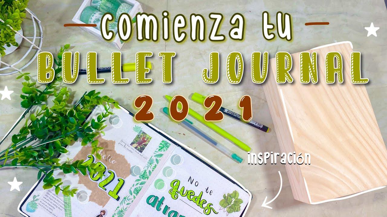 Empieza tu bullet journal 2021 ⭐️~ tips e inspiración ...