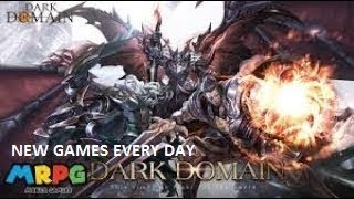 Dark Domain - NEW MMORPG ONLINE Game RPG Android IOS Mobile Gameplay Review 2019 Trailer