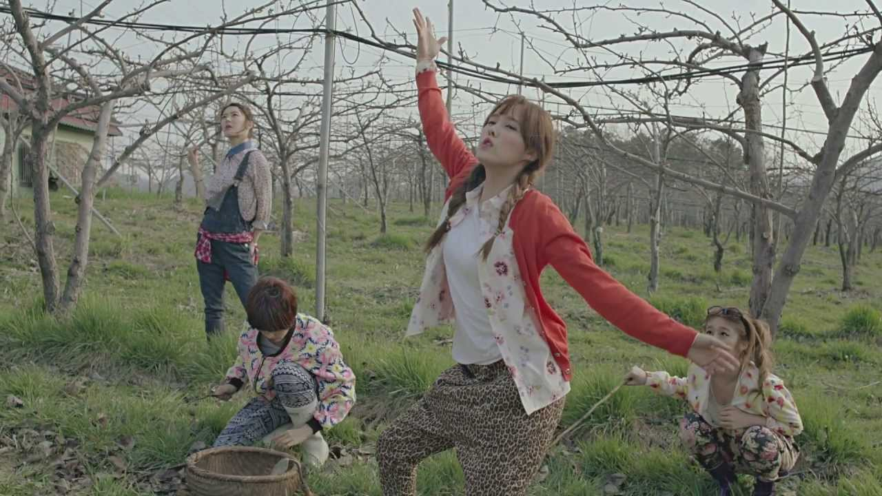 """T-ARA N4 """"전원일기"""" Drama Ver. M/V"""