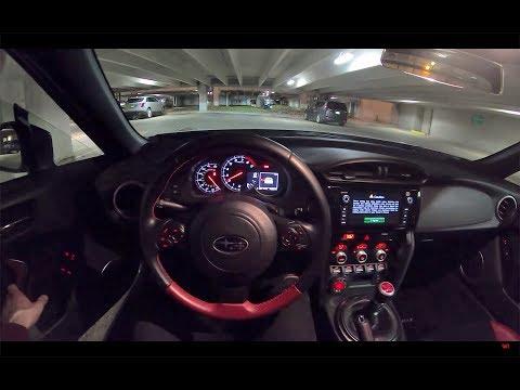 2018 Subaru BRZ tS - POV Night Drive
