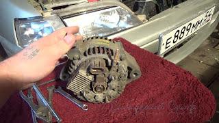 Замена щеточного блока генератора на автомобиле Toyota