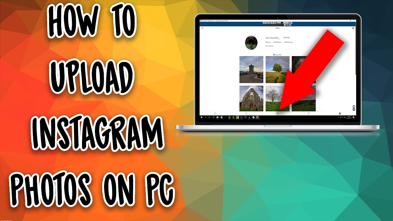 How To Post Photos to Instagram From Desktop Browser!