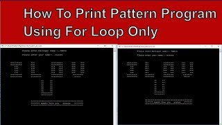 How to Write Love Pattern Program