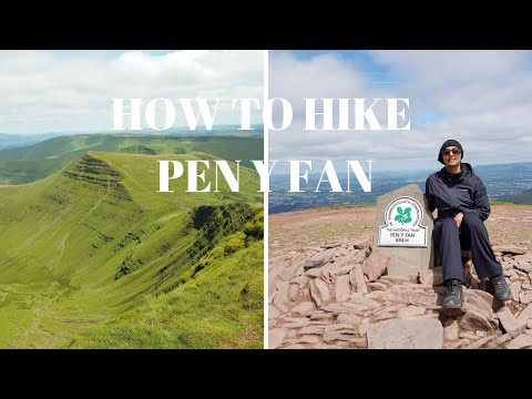 Where to Hike in beautiful Wales UK   Brecon Beacons National Park