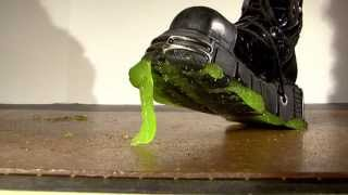 My Punk Boots Eat Up Some Alien Oozy Slime