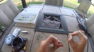 How to set up a fishing rod for beginners