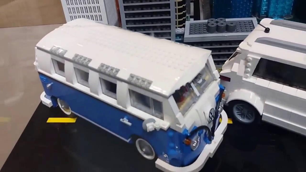 Lego Batmobile at Chicago Auto show - YouTube