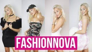 Fashion Nova Try On Haul I Date Ideas + Outfits
