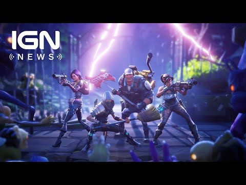 Fortnite: Save the World Free-to-Play Delayed Out of 2018 - IGN News
