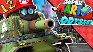 Mario is Tank Now! | Super Mario Odyssey Blind Nintendo Switch Gameplay Walkthrough