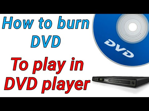 How To Make Dvd|How To Burn Video That Plays On Any DVD Player|Burn Cd/dvd To Play In Dvd Player| 📀