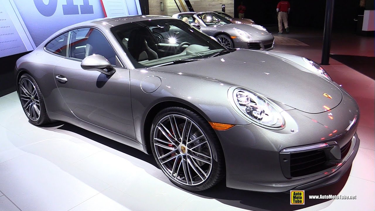 2017 Porsche 911 Carrera S Exterior And Interior Walkaround 2016 La Auto Show You