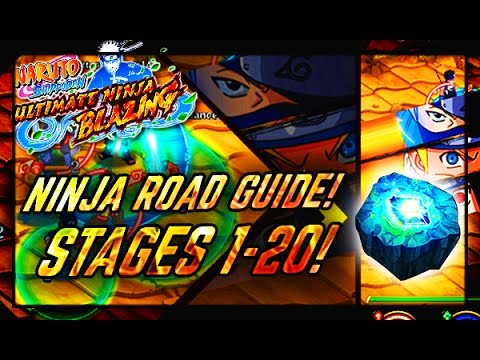 NEW GAMEMODE NINJA ROAD! Stages 1-20 Full Guide/Review! Naruto Shippuden:  Ultimate Ninja Blazing