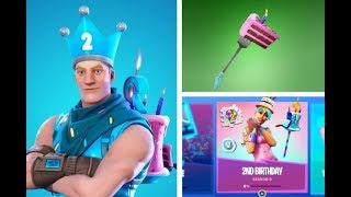 Fortnite 2nd Birthday Celebration Trailer | 2nd Birthday Event | [Official Leaked Fortnite Trailer]