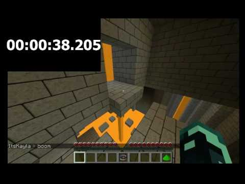 [Happy Hunger Games Parkour] Personal Best: Dungeon Parkour 2: 1:01.630