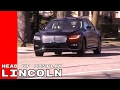 2017 Lincoln Continental Advanced Head Up Display