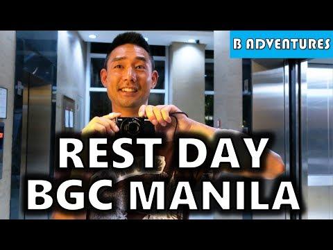 Rest & Update, BGC Taguig Manila Philippines S4, Vlog 90