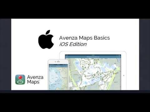 Avenza Maps Basic - Online Training Webinar iOS