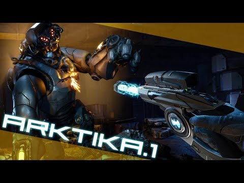 Arktika.1 - First Two Missions (Oculus Touch VR)